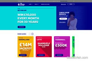 National Lottery (Northern Ireland & The UK)