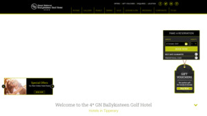 Ballykisteen Hotel & Golf Resort